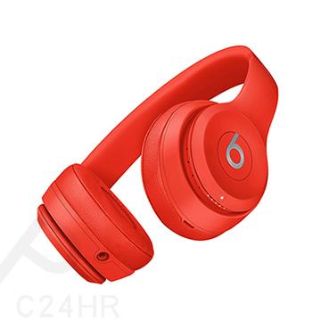 BEATS Solo 3 Wireless紅色(PRODUCT)RED藍牙無線耳罩式耳機