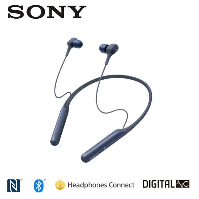 SONY 藍牙無線降噪入耳式耳機 WI-C600N 藍