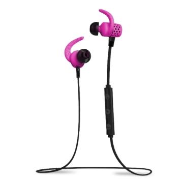 BlueAnt PUMP Mini 無線運動藍芽耳機-亮粉紅