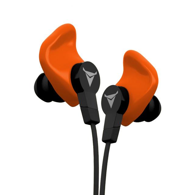 美國 Decibullz 客製化運動耳機 - 橘色史上最 Fit 耳朵的運動耳機!