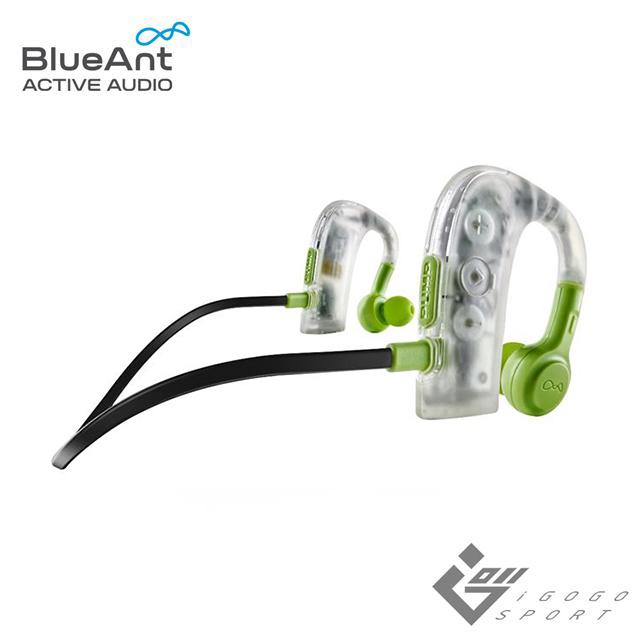 BlueAnt PUMP 2 無線藍牙防水運動耳機軍規等級防水藍牙運動耳機