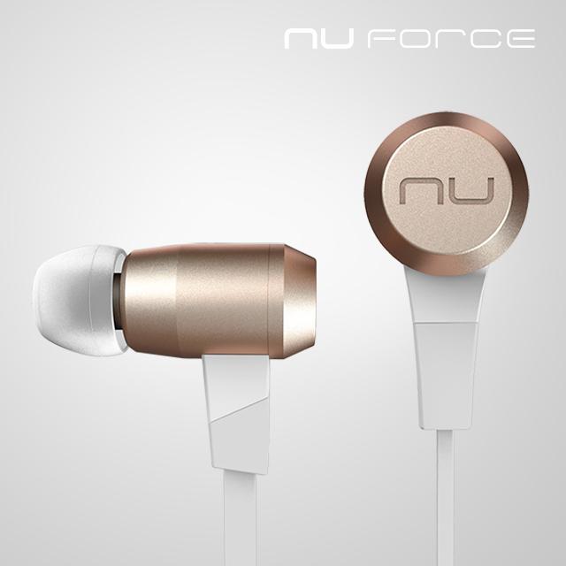 第53屆金馬獎指定貴賓禮NuForce BE6i 無線藍牙耳機(金)