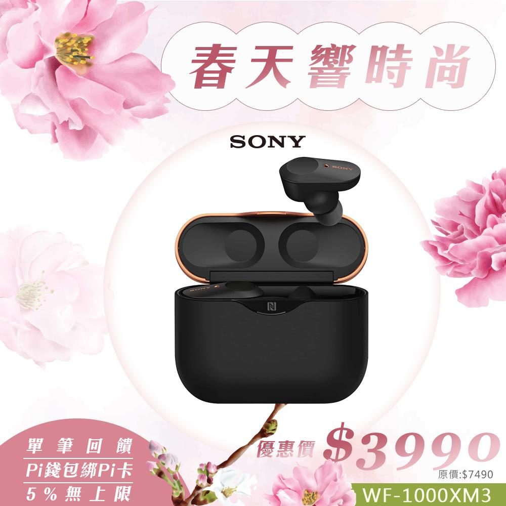 SONY WF-1000XM3 黑色 真無線 藍牙降噪耳機