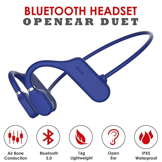OPENEAR DUET 開放式氣傳導藍牙耳機 (藍)