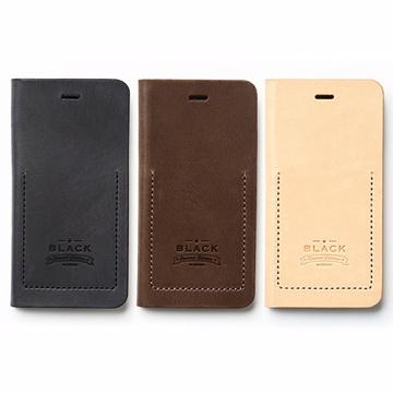 ZENUS iPhone 6 Black工匠特仕版 典藏款 側掀真皮皮套