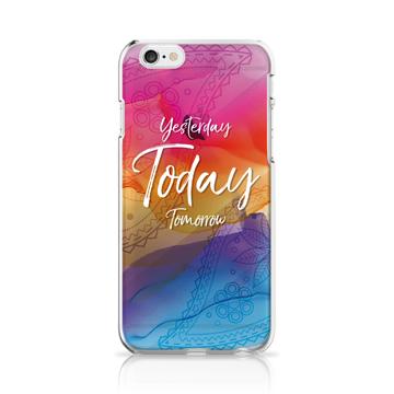 UP2度C-昨天今天明天iPhone6軟殼手機殼-少女/女友/母親節
