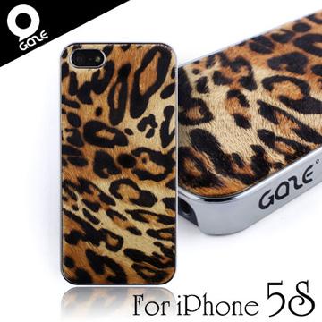 韓國潮牌Gaze Leopard Calf Hair iPhone 5/5S/SE豹紋牛毛保護殼