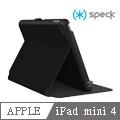 Speck StyleFolio iPad mini 4 多角度側翻皮套 -黑灰