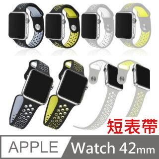 Apple Watch Series 1 / 2 雙色款運動型錶帶