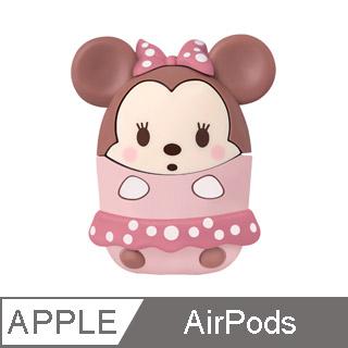 InfoThink 迪士尼系列無線耳機造型保護套for AirPods - 米妮