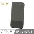 kajsa iPhone 7 (4.7吋)松木連蓋保護殼(灰)