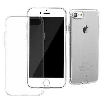 Baseus Apple iphone 7 4.7吋 TPU材質 全包覆式 帶防塵塞保護軟殼