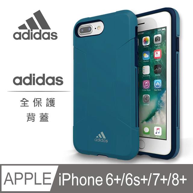 adidas Solo Case 全保護背蓋手機殼 經典藍for iPhone 6/6s/7/8 plus 5.5吋◢ 雙重材質防護運動單品◢ 愛迪達原廠背蓋