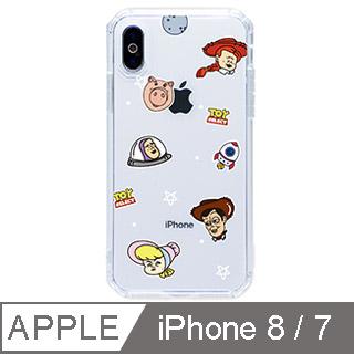 【TOYSELECT】iPhone 7/8 經典崩壞玩具星球菱形八角防摔iPhone手機殼 保護殼 手機套 保護套 軟殼