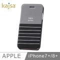kajsa iphone 7 plus(5.5吋)水手連蓋手機殼(黑)