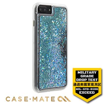 """美國Case-Mate iPhone 7 Plus(5.5"""")Waterfall亮粉瀑布-藍綠色"""