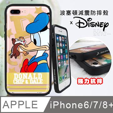 迪士尼宙斯防摔 iPhone 6s Plus/7 Plus /8 Plus 共用 波塞頓字母系列(唐老鴨)