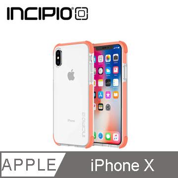 Incipio iPhone X邊框強化系列保護殼-粉嫩橘 IPH-1633-COR