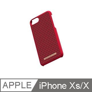 Nordic Elements 北歐元素手機殼 千鳥紋紅黑 iPhone XS