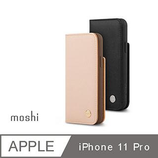 Moshi Overture for iPhone 11 Pro 磁吸可拆式卡夾型皮套