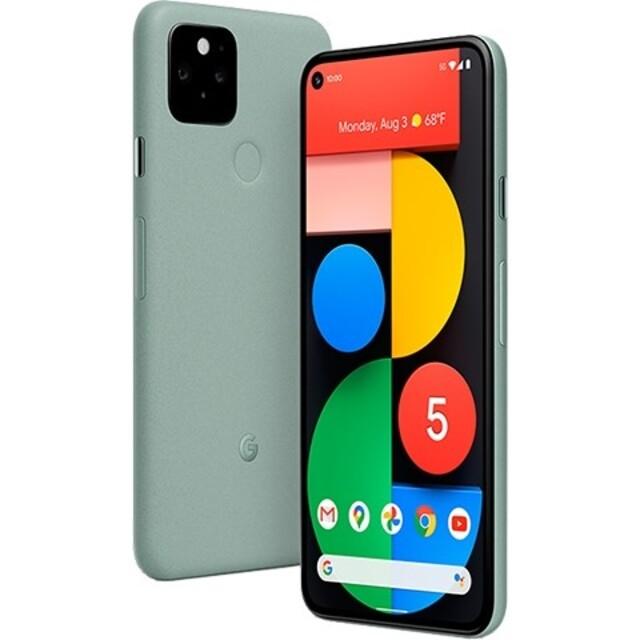 限量搶購,依照訂單順序出貨~Google Pixel 5 5G(8G+128G) 綠