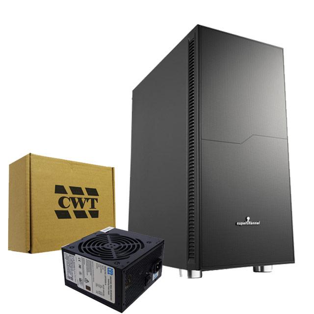 視博通 靜音使者 電腦機殼+僑威 500瓦 80PLUS銅牌 電源供應器