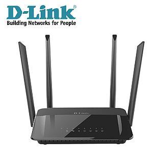 D-LINK友訊 DIR-1210 AC1200 MU-MIMO 雙頻無線路由器