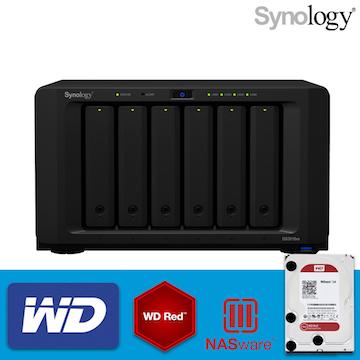 【 WD紅標4TBx6 】Synology 群暉科技 DiskStation DS3018xs 6Bay NAS 網路儲存伺服器