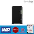 【 WD紅標3TBx2 】Synology 群暉科技 Network Video Recorder NVR1218 (4路)