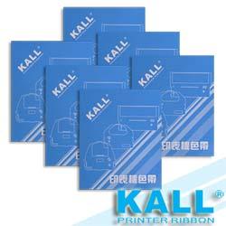 KALL『 EPSON S015016/LQ680 』色帶(黑色/1組6入)