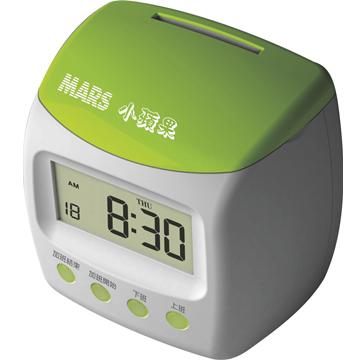 MARS 小蘋果 微電腦四欄位打卡鐘(台灣製造)