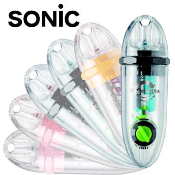 Sonic 超輕便可調式 雙迴旋削鉛筆機10入(藍/SK-878)