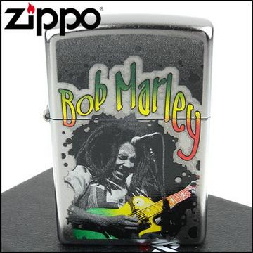 【ZIPPO】美系~Bob Marley-雷鬼音樂教父圖案設計打火機