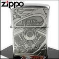 【ZIPPO】美系~Harley-Davidson-哈雷-V2引擎圖案貼飾打火機