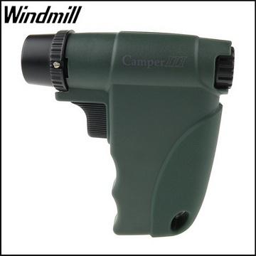 【Windmill】Camper III系列-露營戶外用噴射打火機(綠色款)