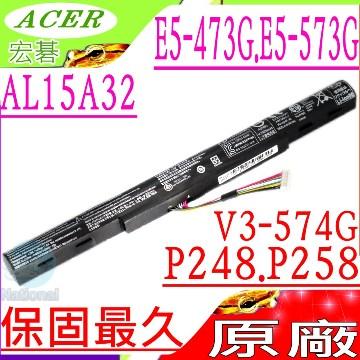 ACER AL15A32, E5-473 電池(原裝)- 宏碁 AL15A32,  V3-574G, E5-473G, E5-573G, E5-473G, E5-473G-36X2, E5-473G-519T,...