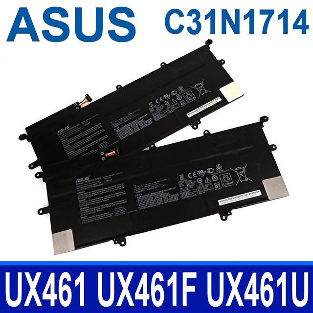 ASUS C31N1714 3芯 華碩電池 ZenBook Flip 14 UX461 UX461F UX461FA UX461FN UX461U UX461UA UX461UN