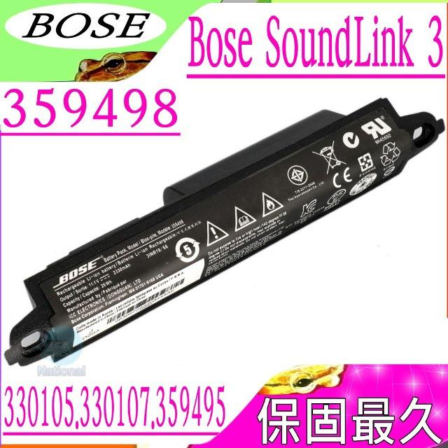 BOSE 359495, 359498 博士 電池 (原廠) (保固最久) BOSE mini3電池,  Bose SoundLink 3 battery, 330105, 330105A, 3...