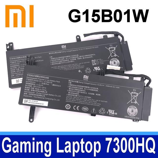 MI 小米 G15B01W 3芯 電池 G15BO1W Gaming Laptop 7300HQ 1050Ti Gaming Laptop 7300HQ 1060 GTX1060 Intel I7