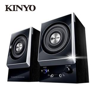 KINYO音樂大師木質立體喇叭KY1007A(福利品)