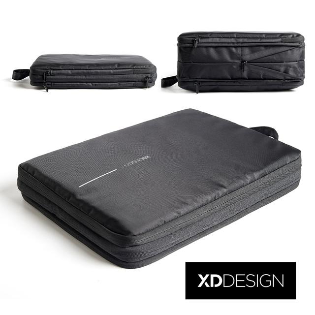 XDDESIGN BOBBY COMPRESSIBLE 雙層旅行收納伸縮包(桃品國際公司貨)-福利品