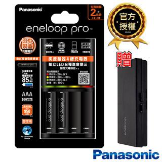日本Panasonic鎳氫電池充電器3號電池套裝 (充電器組+3號4入)