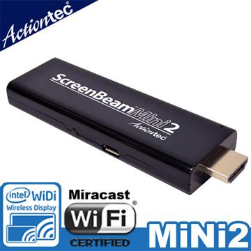 Actiontec ScreenBeam Mini 2 WiDi/Mircast無線顯示接收器