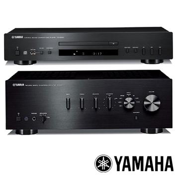 Yamaha 山葉 網路CD播放機+HIFI綜合擴大機 CD-S300+A-S301