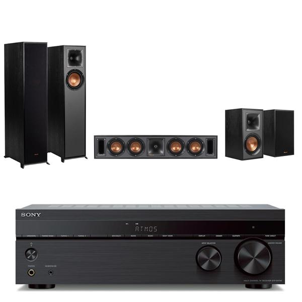 SONY STR-DH790 7.2聲道擴大機+Klipsch R-610F+R-34C+R-41M 五聲道劇院組