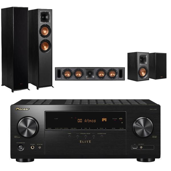 Pioneer VSX-LX104-B 7.2聲道 AV環繞擴大機+Klipsch R-620F+R-34C+R-41M 五聲道劇院組