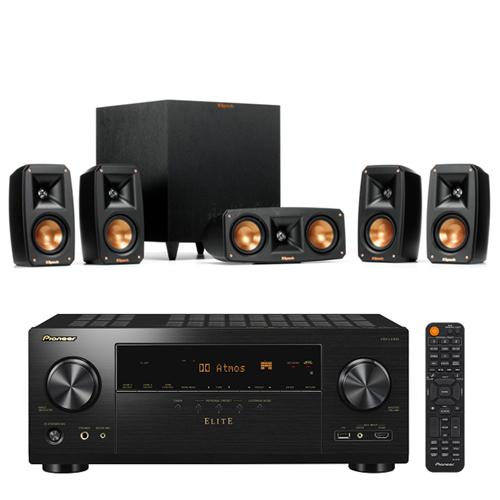 Pioneer 先鋒 VSX-LX304-B 9.2聲道AV環繞擴大機+Klipsch Reference Theater Pack 5.1聲道喇叭組