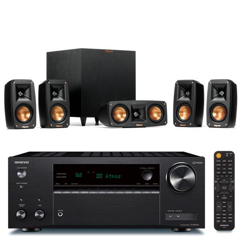 ONKYO TX-NR595 7.2聲道擴大機+Klipsch Reference Theater Pack 5.1聲道 劇院喇叭組