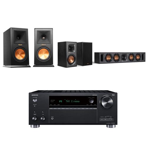 ONKYO TX-RZ730 9.2聲道擴大機+Klipsch RP-160M+R-34C+R-41M