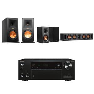 ONKYO TX-NR686 7.2 聲道擴大機+Klipsch RP-160M+R-34C+R-41M
